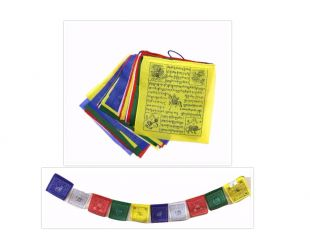10 Pages Cotton Prayer flag