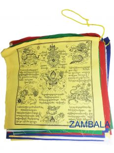 25 pages cotton prayer flag