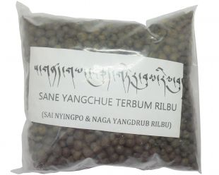 Naga and Ksitigarbha Rilbu is used in treasure Vase(Made in Ka-Nying Shedrub Ling Monastery of Nepal.)