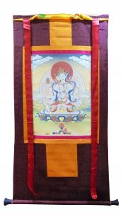 Assorted Namgylma thanka with brocade
