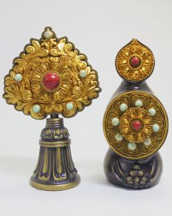 Peaceful Torma set brass