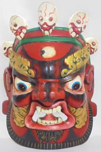 Mask of Mahakala (red)