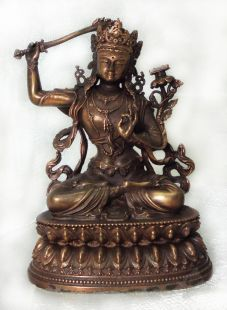 Manjushree Statue(copper)