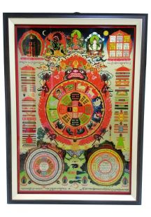 Protection Mandala frame (Promotional price)(M)