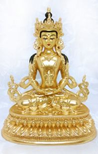 Amithayus , Full gilt gold statue