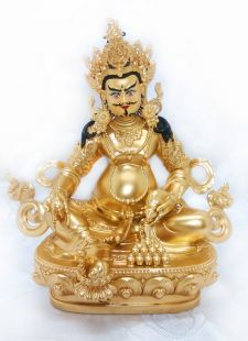 Yellow Zambal , Full gilt gold statue